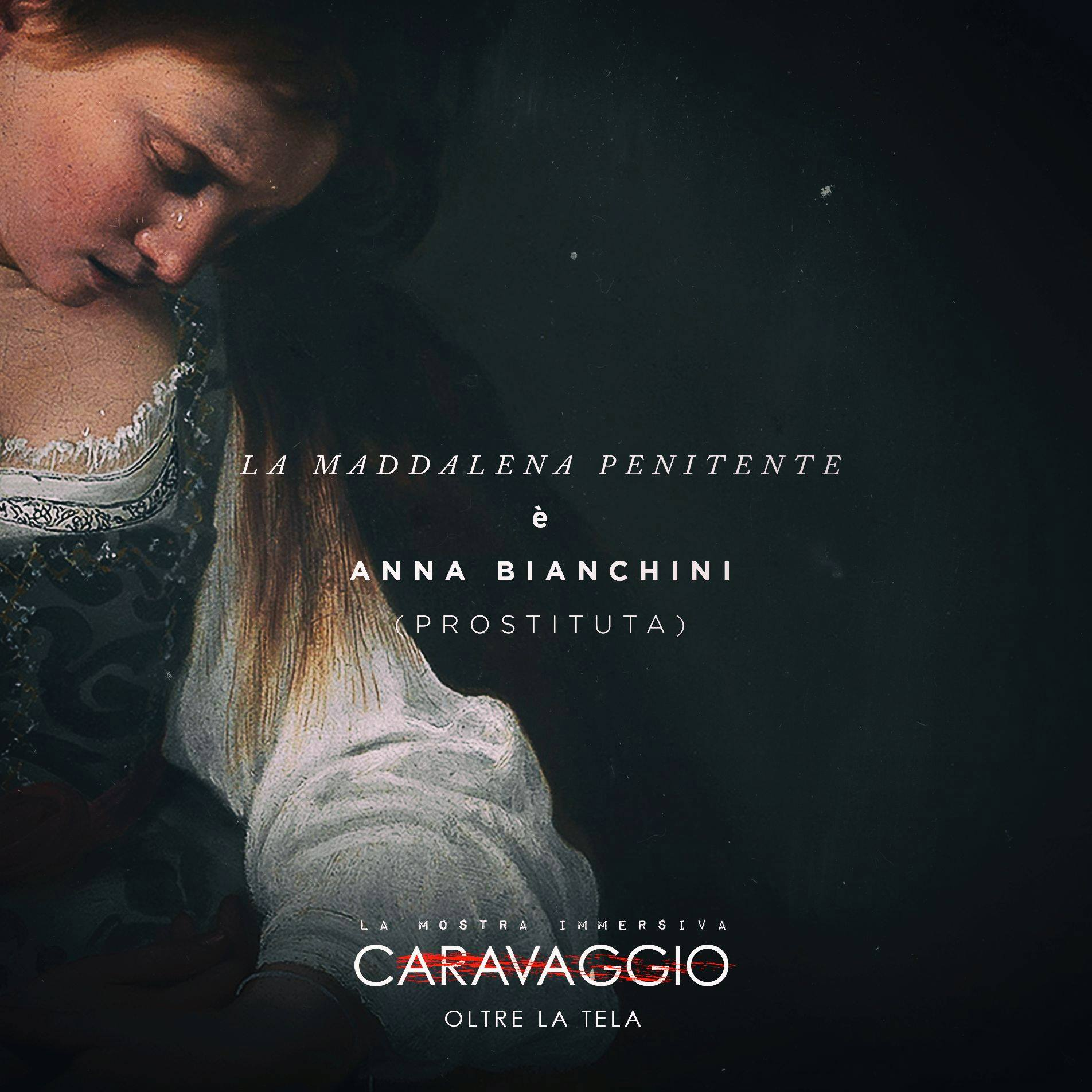 All About Anna Uncensored caravaggio, an immersive exhibition - madre